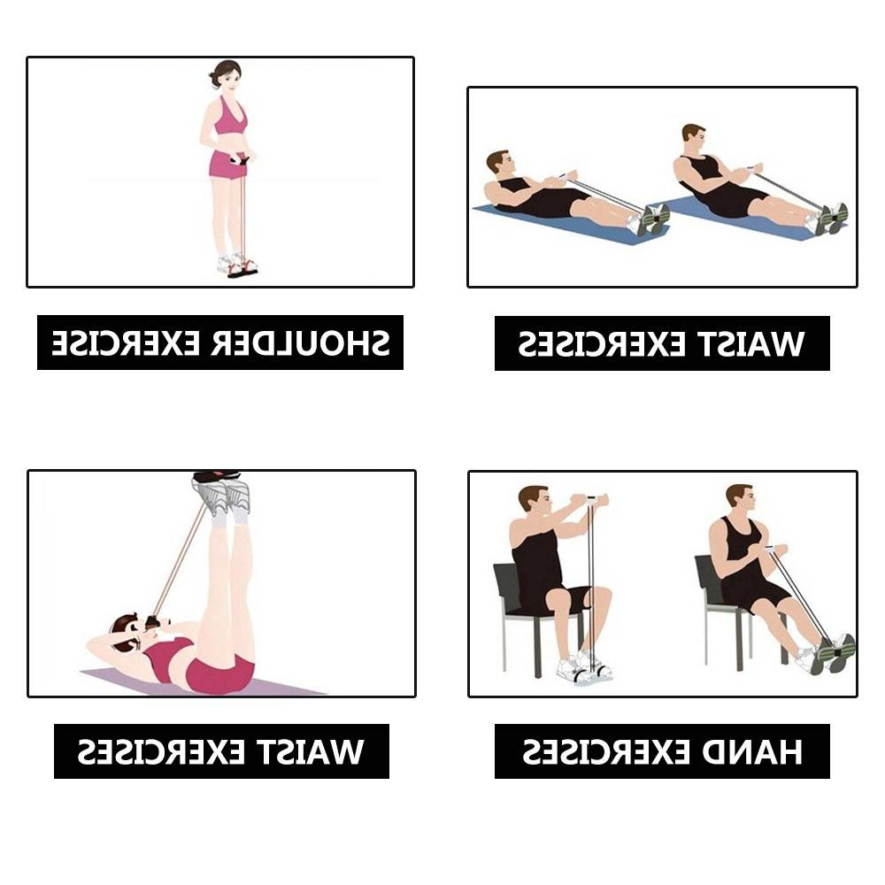 4 <font><b>Resistance</b></font> Exerciser Foot yoga Pilates Slimming equipment