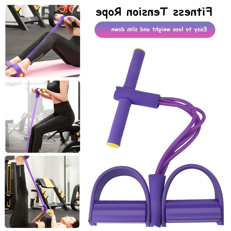 4-Tubes Yoga Equipment Fitness Rope