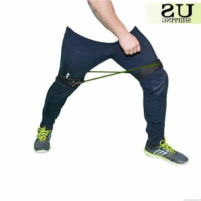4Pcs Resistance Bands Speed Agility Strength Leg Ankle Fitness