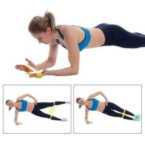 5/Set Resistance Yoga Fitness Exercise Workout