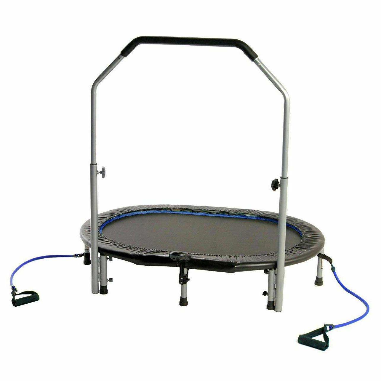 Stamina 55-Inch Trampoline Intone Oval Bouncer Handlebar