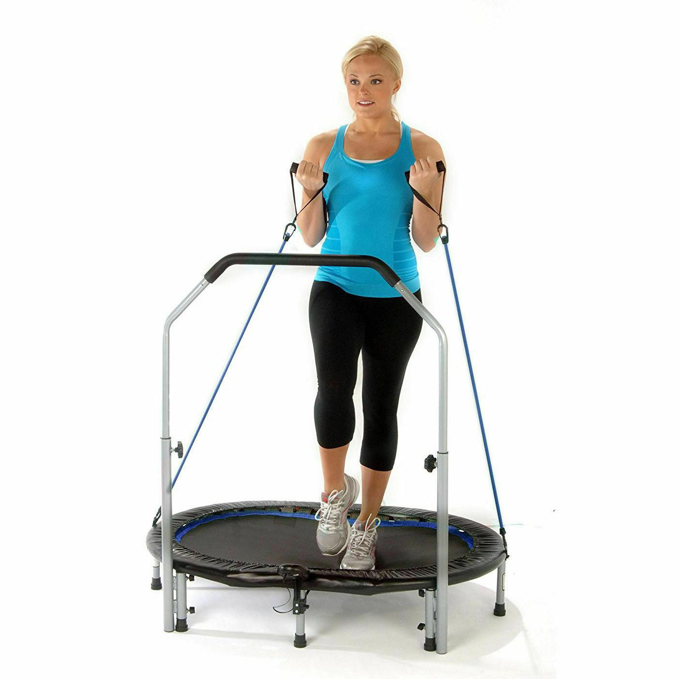 55 inch fitness trampoline intone oval jogger