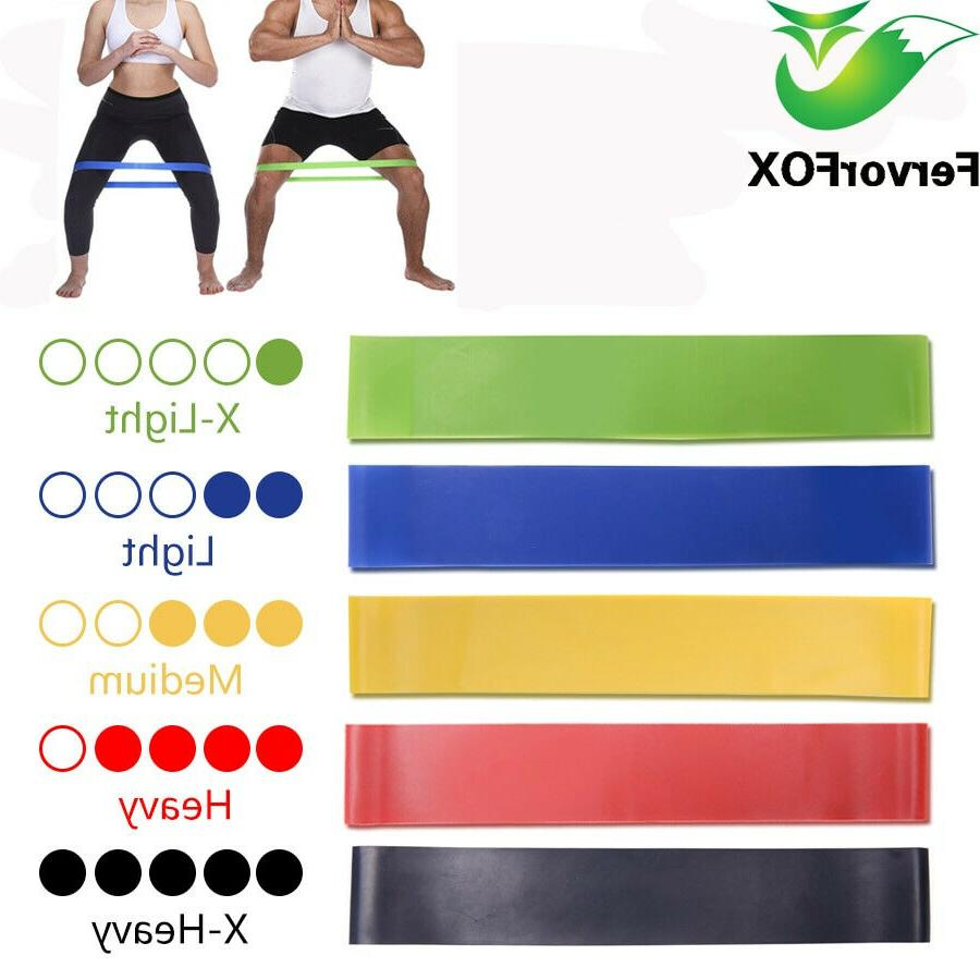 5gym equipment resistance bands strength training latex
