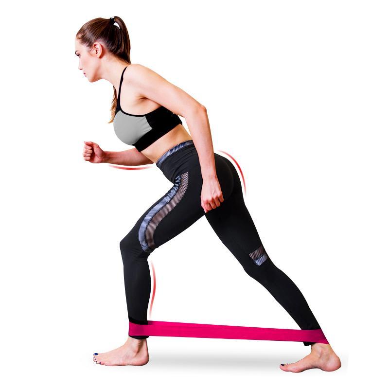 5Pcs/<font><b>Set</b></font> Elastic <font><b>Bands</b></font> Fitness Gum <font><b>Resistance</b></font> <font><b>Bands</b></font> Yoga Sport Elastic <font><b>Bands</b></font> Training Exercise Equipments