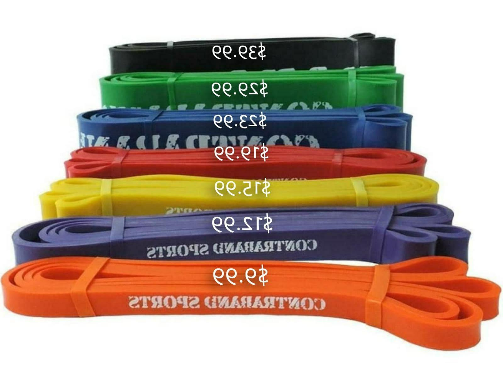 7419 41in resistance bands powerlifting bands pullup