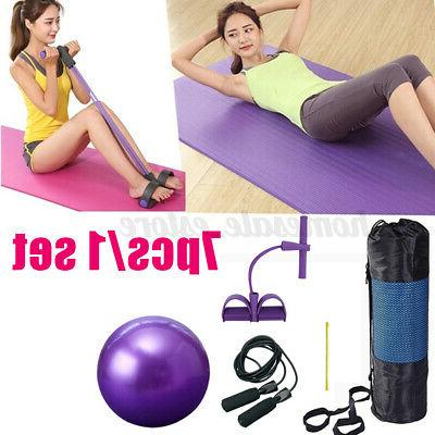 7Pcs/set Exercise Yoga Fitness Equipment Yoga Pilates Ball