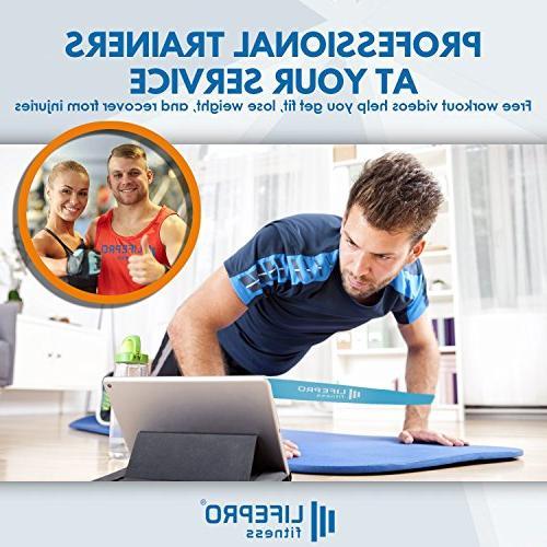 LifePro Sliders & Jump Premium 80 Equipment with Home Videos eBook Beachbody Bands Discs 1 Adjustable Jump Rope