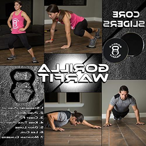 80 Obsession | Bands and Exercise Sliders with Bonus | Core Workout | Bearings Rope