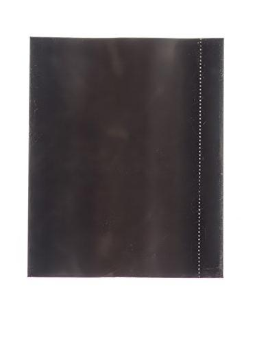 Black PVC non-perforated shrink band for 38 and 28 mm neck f