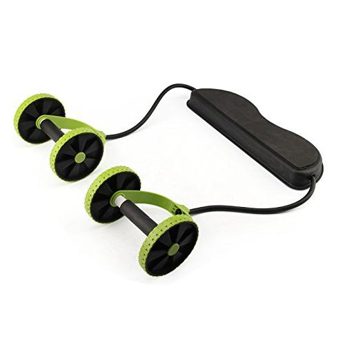 EDTara with Resistance Band for Workout Abdominal Exercise Strength Equipment Home