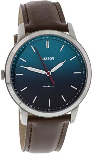 Fossil Men's 'The Minimalist 3H' Quartz Stainless Steel and
