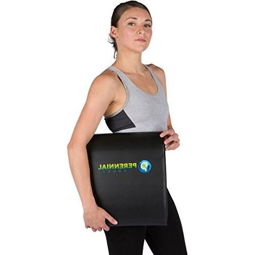 Ab Mat Bands Abdominal Trainer Pad for and Back Support with Resistance Set for a Workout Home Gym
