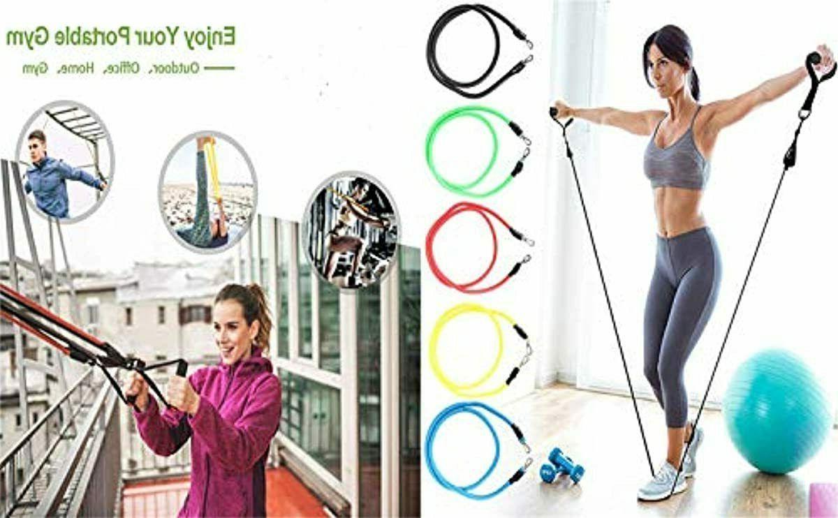 ADO Pilates Flexbands Home Bands Set, Exercise Bands