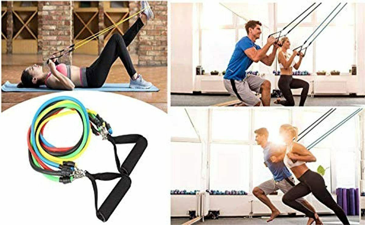 ADO Stap Home Workout Resistance Set, Bands