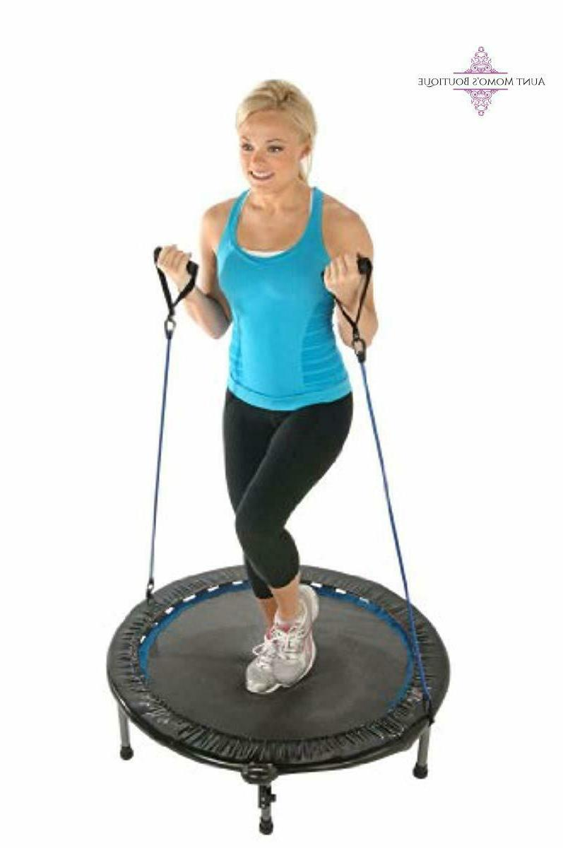 Adult Trampoline with Bands 38-Inch