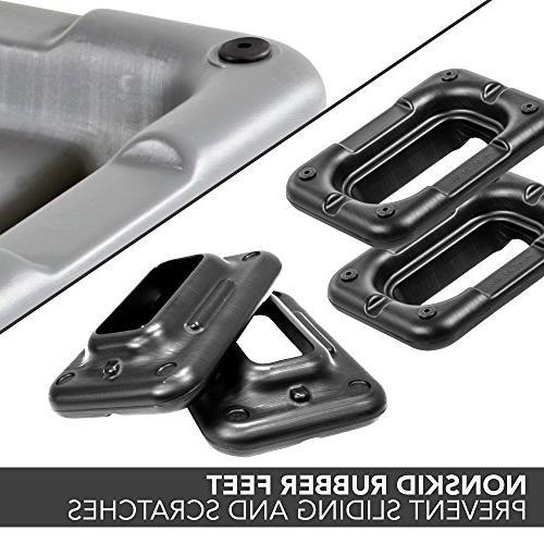 "Platform – Circuit Size Grey Aerobic Four Black Included 4"", Options"