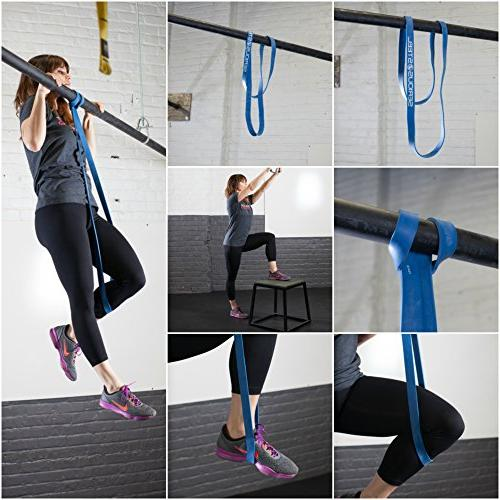 - Pull-Up Assist & Stretching Resistance Band and Band