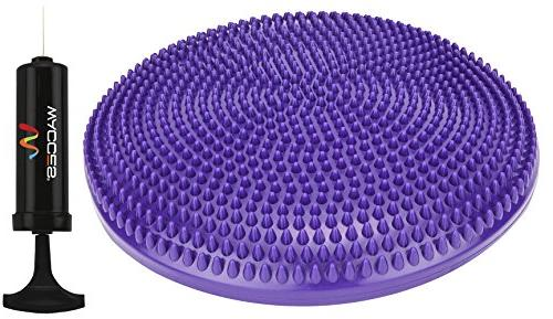 athletic inflatable twist massage balance
