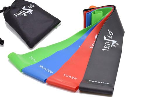 baznat resistance bands set of 4 premium