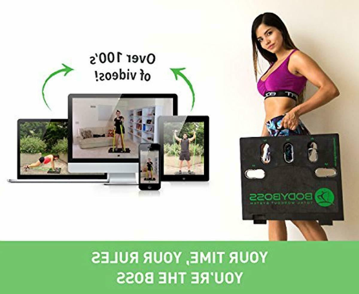 BodyBoss Gym - Portable Home 1 Set of Resist