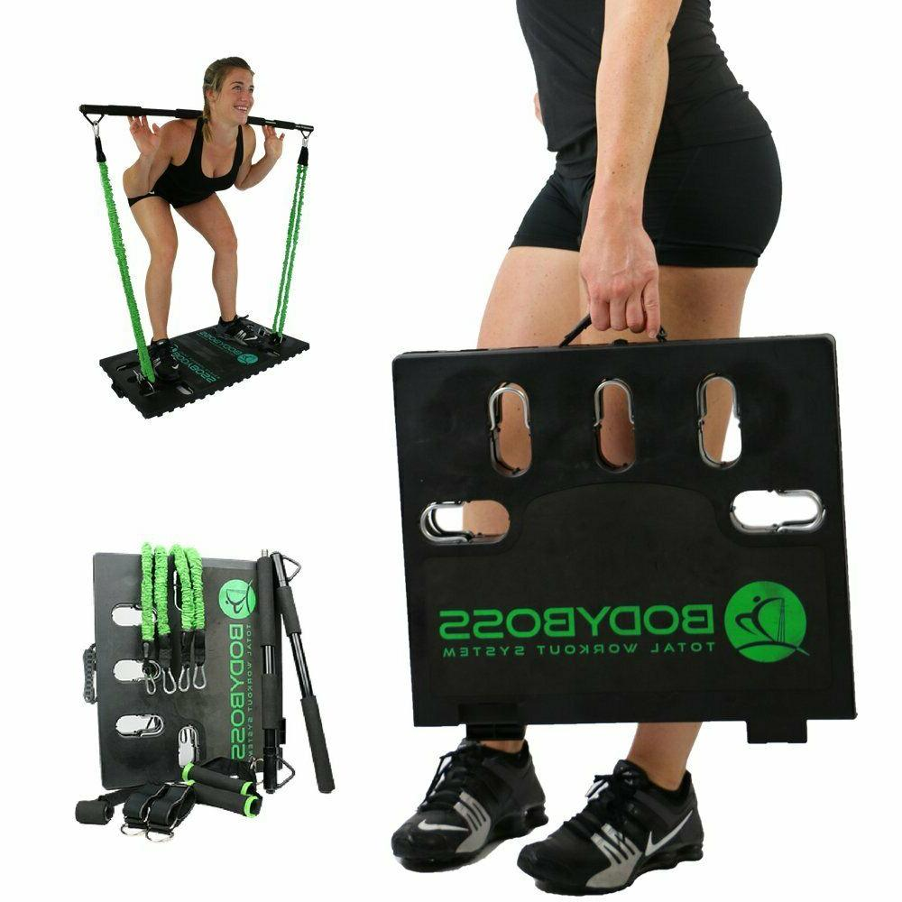 bodyboss home gym 2 0 full portable