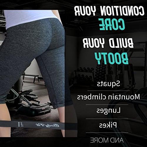 Bodyfit Discs & Bands Set 5 2 High Double-Sided Core Sliders BONUS EBOOK, Fitness Workout