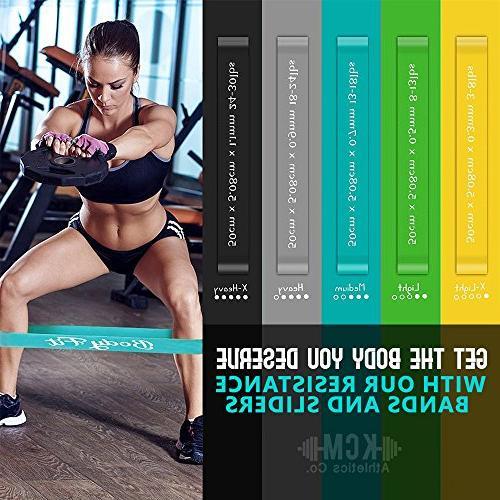 Bodyfit Premium Gliding & Bands 2 Core Sliders Gliding BONUS EBOOK, Booty Fitness Workout