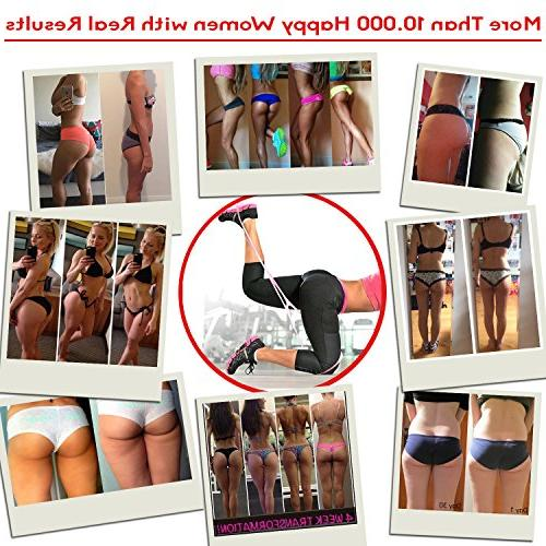 Starktape Resistance Bands | 2 Booty Bands System, Hip | Perfect Brazilian Legs