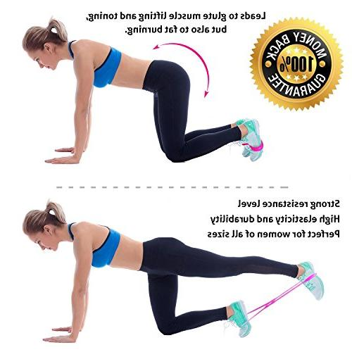 Starktape Booty Belt Bands of 2 Booty System, Hip | Perfect Brazilian Butt Lift Glutes Workout, Legs