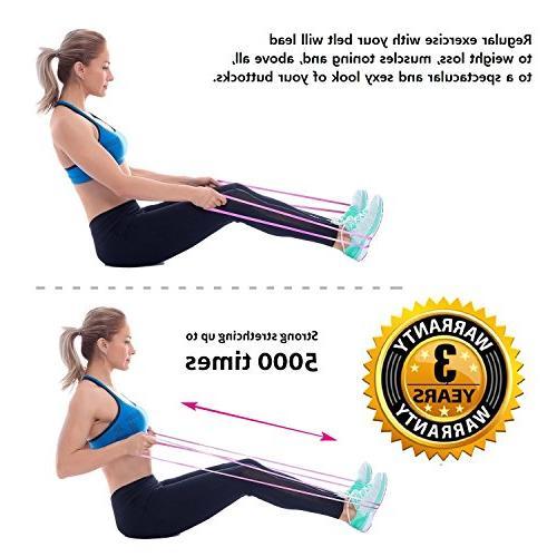 Starktape Belt Bands 2 Booty System, Exercise, Hip Brazilian Glutes Workout, Legs Women