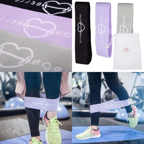 Booty Workout Resistance Bands Set At Home Exercise Equipmen