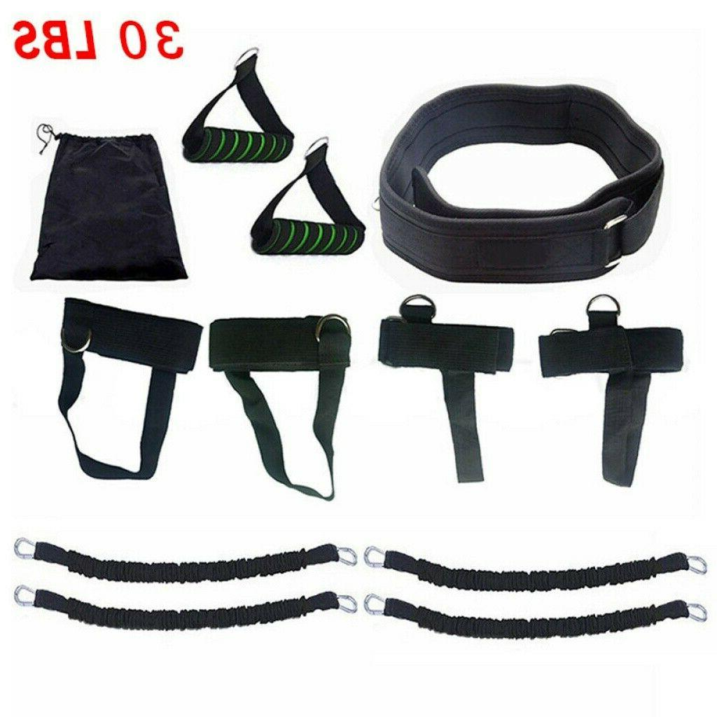 Boxing Gym Strength Equipment Fitness Bands Set