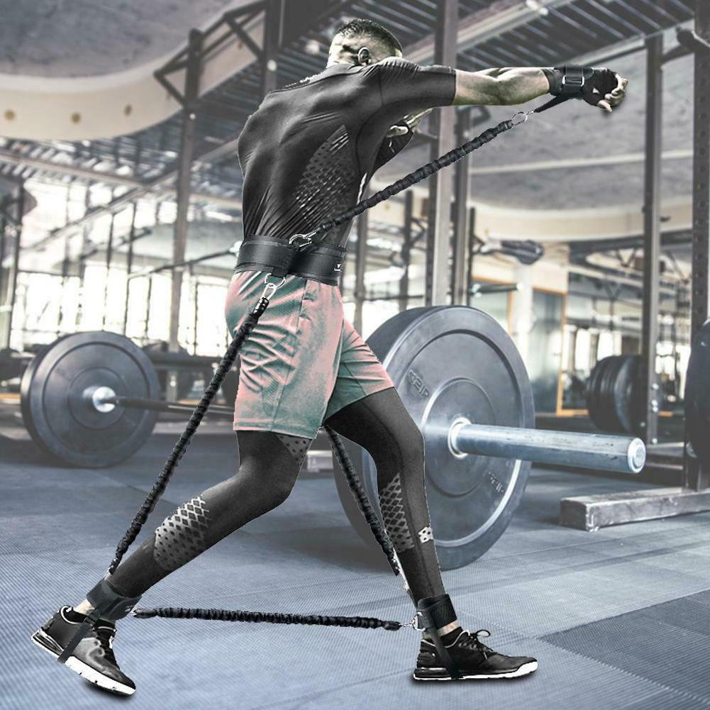 Bands Bouncing Strength Training