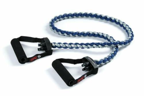 braided xertube resistance band exercise cords level