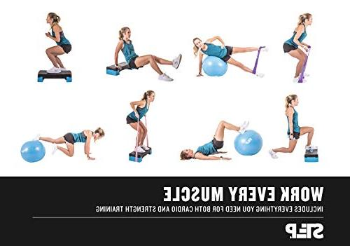 The Step Bundle Home Gym Workout for Core,