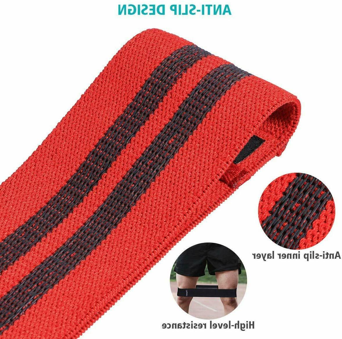 Cloth Bands Loop of 3 Exercise Gym