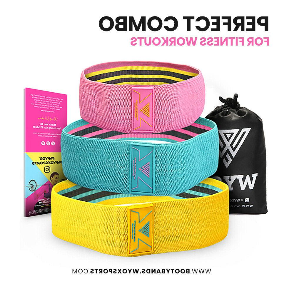 Cloth Booty Bands 3 Exercise Gym