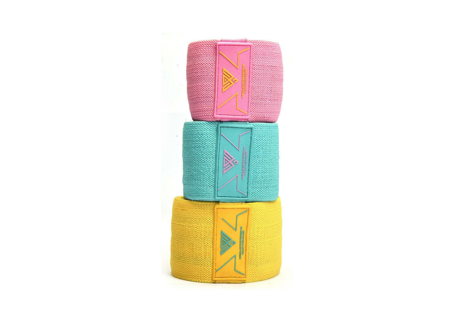 Cloth Fabric Bands 3 Workout Gym