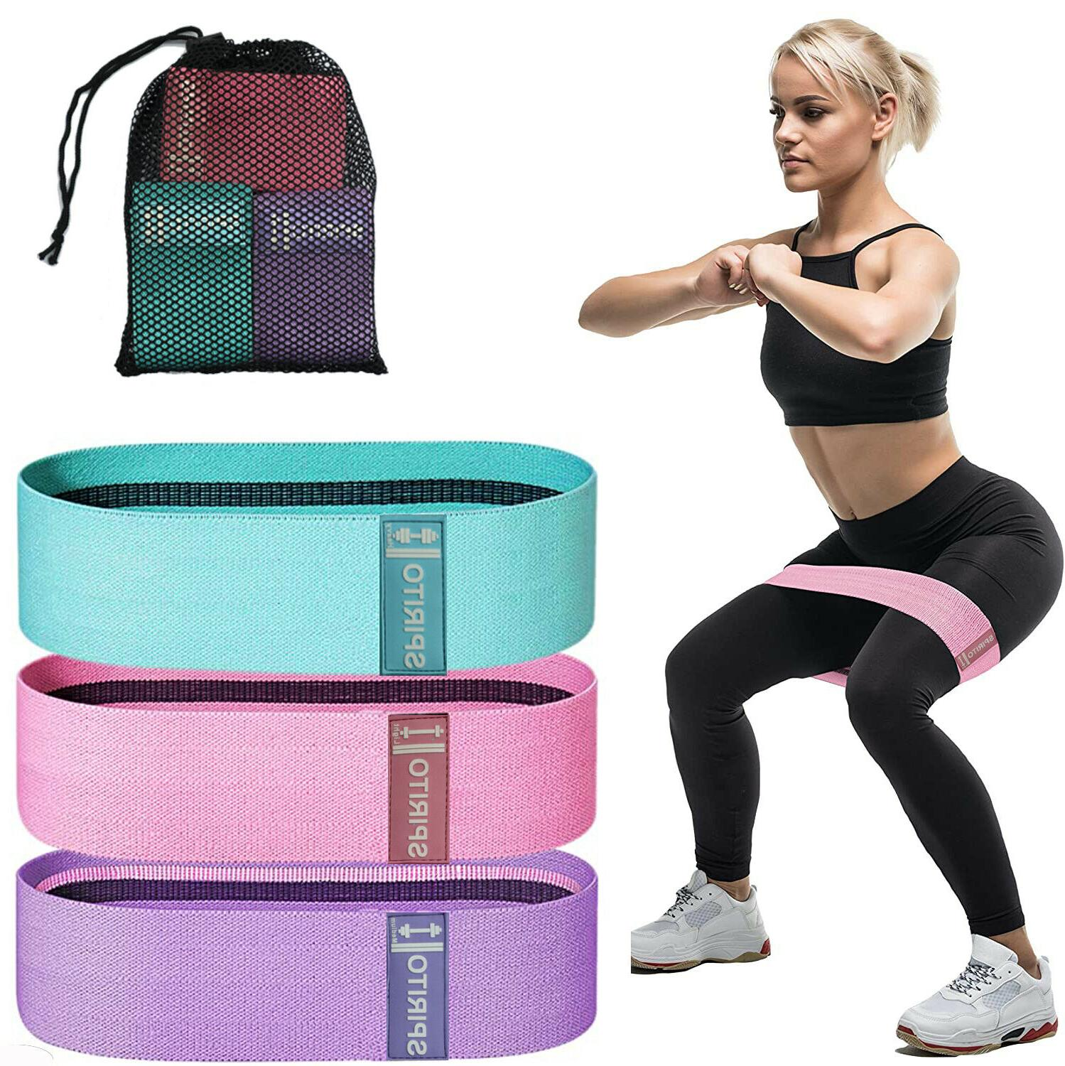cloth fabric resistance booty bands loop set