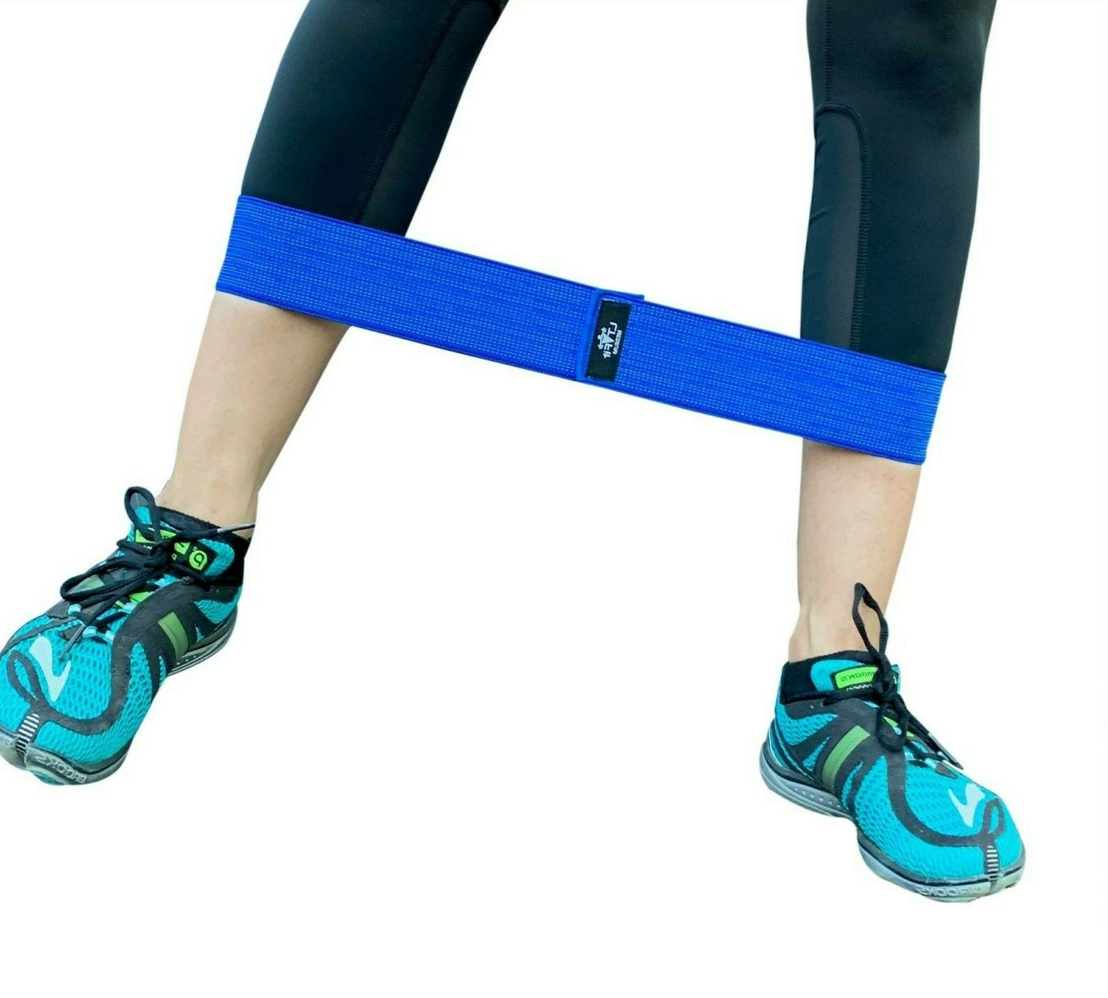 Cloth Fabric Booty Bands 3 Exercise Workout Gym