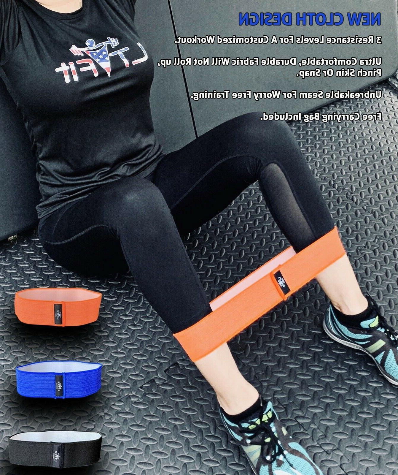 Cloth Bands Loop Set 3 Workout Gym