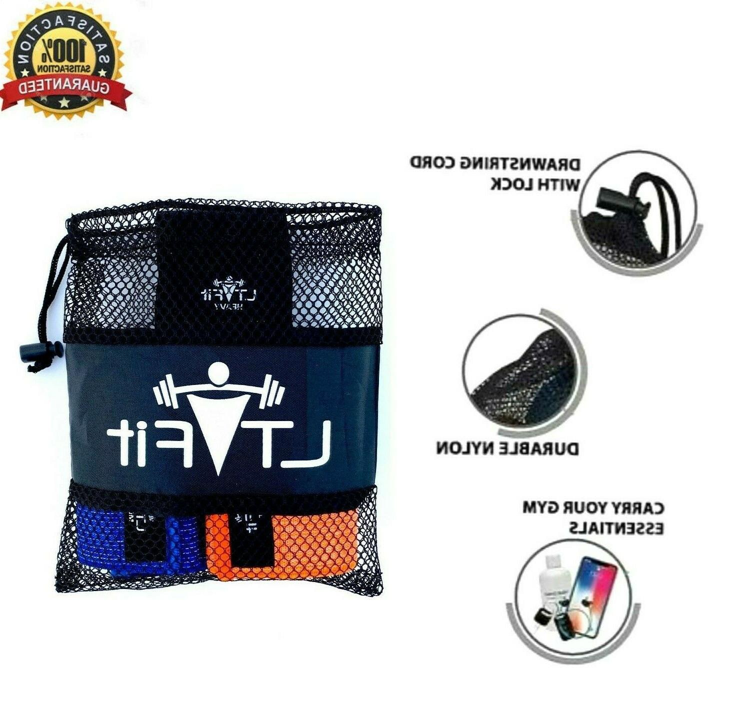 Cloth Fabric Resistance Bands of 3 Gym