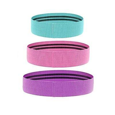 Cloth Booty Bands of 3 Workout Sport