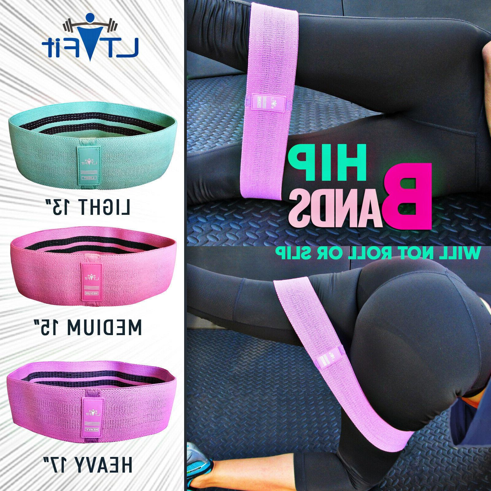 cloth fabric resistance hip booty bands loop