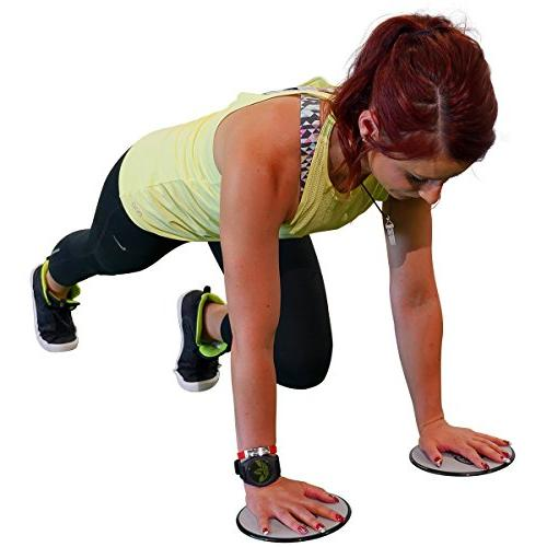 Elite Exercise Sliders are Sided Work Any Surface. Variety Low Impact Exercise's You Can Do. Workout, or