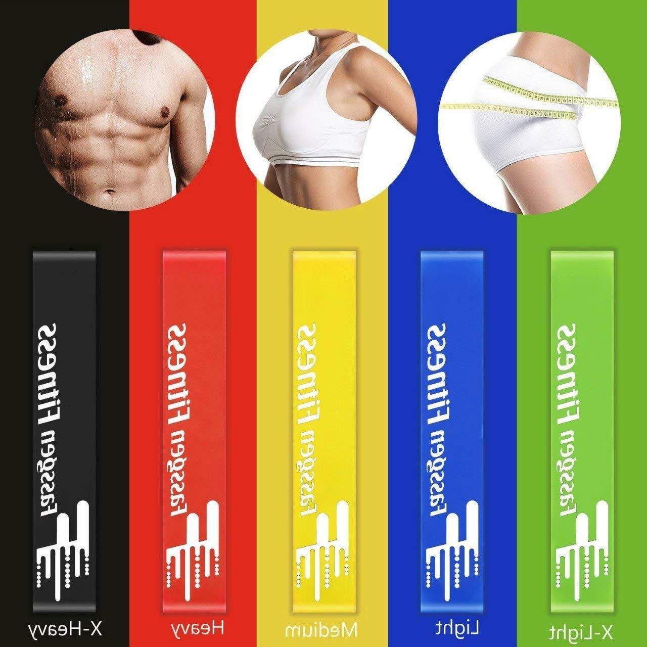 Fassgen Fitness Core And Bands Exercise Loops For Unisex