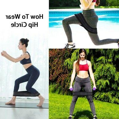 Elastic Hip Bands Equipment Fitness