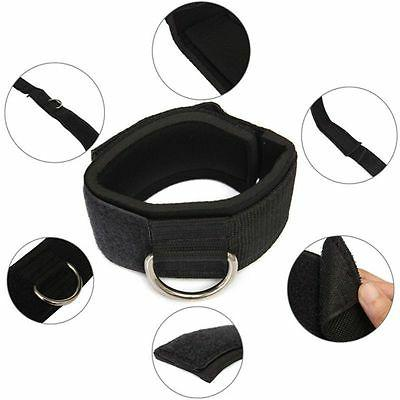 D-ring Fitness Exercise Training Resistance Bands Leg Thigh