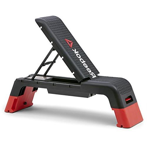 Amazing Reebok Professional Deck Workout Bench Black Creativecarmelina Interior Chair Design Creativecarmelinacom