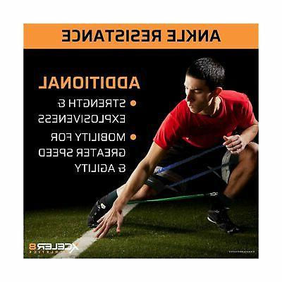 DYNAMX TRAINER: Speed Agility Training Leg Resistance Bands All